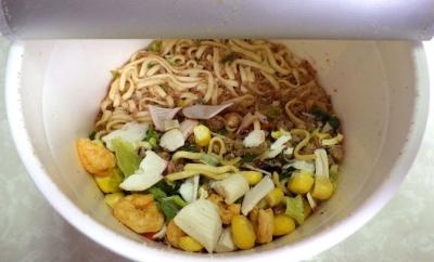 カップヌードル 世界のカップヌードルサミット2017 XO醤海鮮味(内容物)