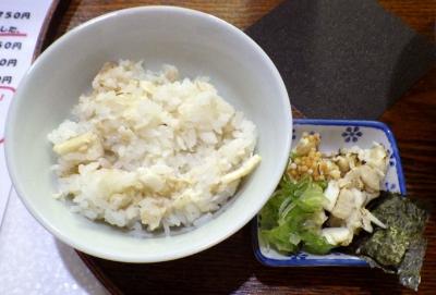 真鯛らぁー麺 日より 鯛めし(スープ茶漬けセット)