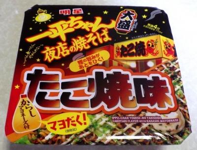 6/12発売 一平ちゃん 夜店の焼そば 大盛 たこ焼味