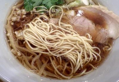 ムタヒロ 堺東店 ガハハ鶏そば(麺のアップ)