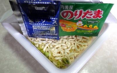 5/8発売 のりたま 焼うどん だし醤油味(内容物)