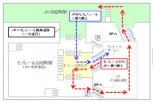 東京モノレール連絡通路0
