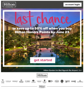 Buy Hilton Honors Point ①