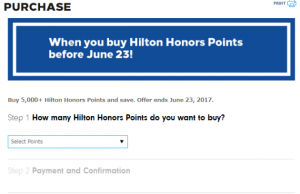 Buy Hilton Honors Point ②