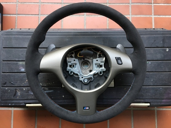 ステアリング スポーク補修 BMW
