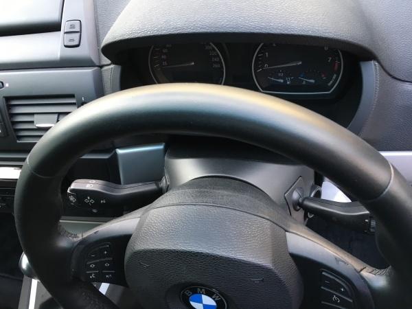 革巻きステアリング 擦れ キズ補修 BMW X3