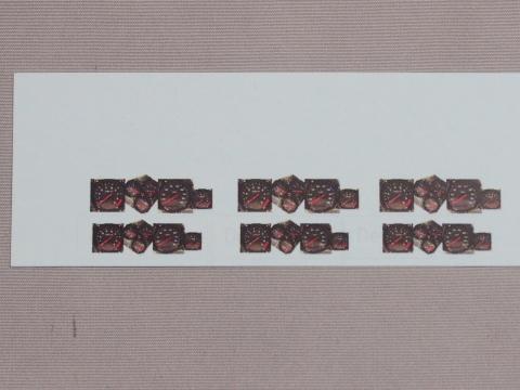 シトロエンDS21デカポタブル_メーターの改造