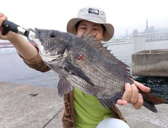 ガンクロ釣り08