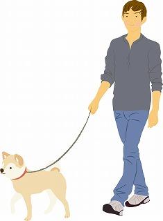 s-犬の散歩