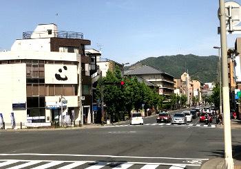 丸太町橋付近