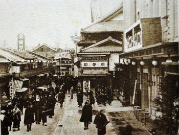 昭和初期の新京極(京都)