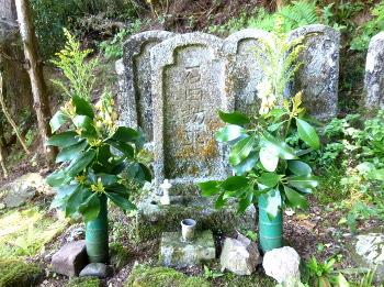 石田梅岩墓