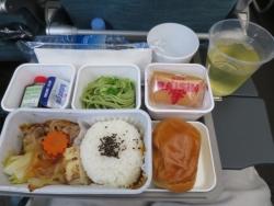 キャセイパシフィック 機内食 日本食
