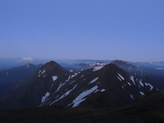 2017.06.谷川岳主脈縦走