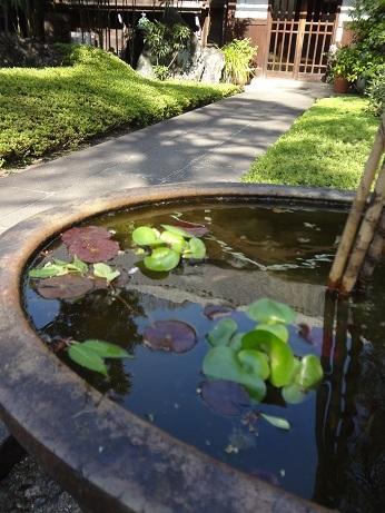 薬王寺水盤