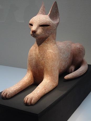 陶テラコッタ猫