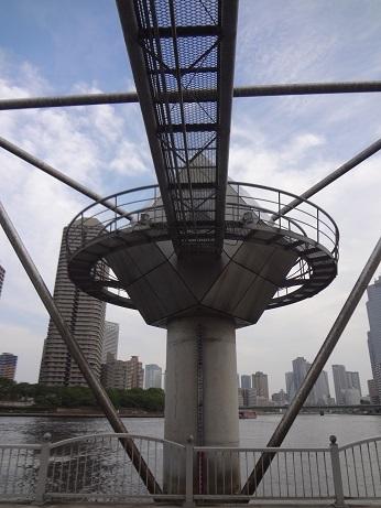 霊岸島水位観測所シンボルタワー