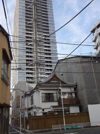 湊の高層ビル