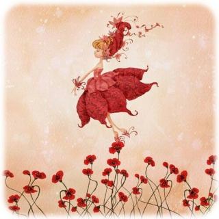 赤い妖精のお嬢さん