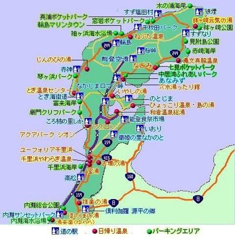 能登半島地図