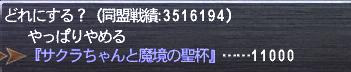 サクラちゃん飼育ランク7