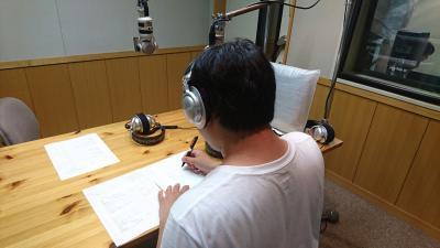 第8回ストレートラジオ収録風景1