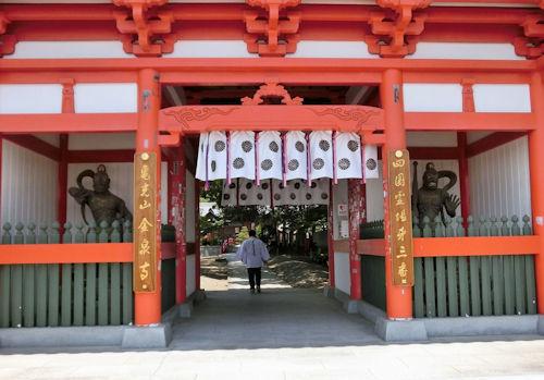 170708-札所3番金泉寺-1