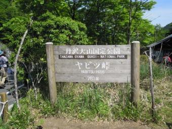 ヤビツ峠170522