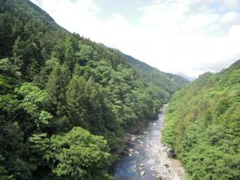 伏馬田への道の橋170528