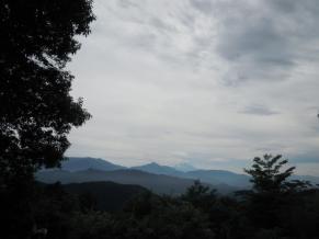 高尾山山頂から170702