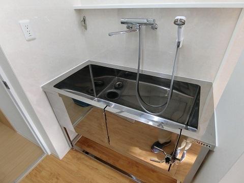動物病院トリミング室シャワー