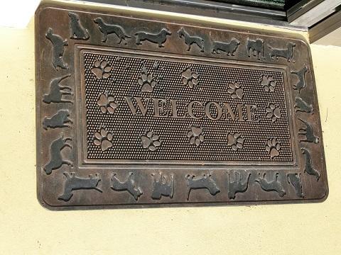動物病院玄関マット