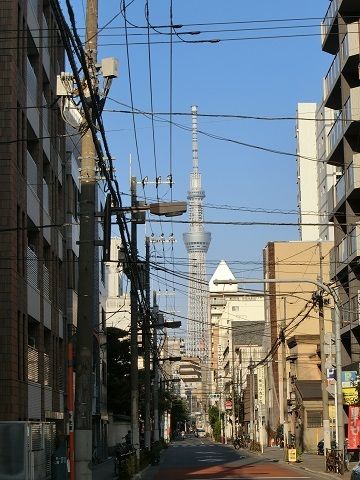 上野エントランススカイツリー