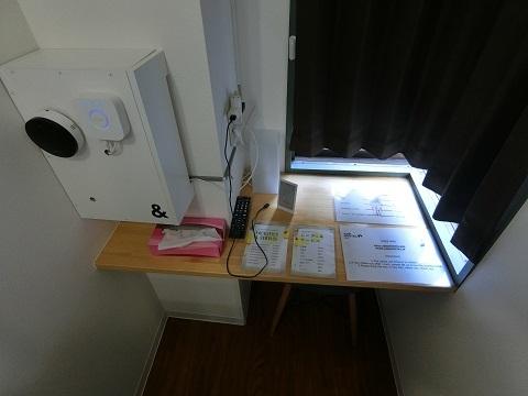 上野ホステル2F個室2デスク