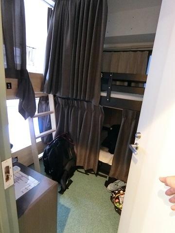 上野ホステル2F個室4