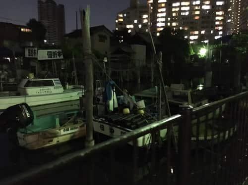 地元の船たち