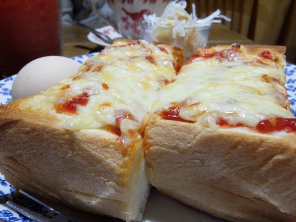 ダブルチーズトースト