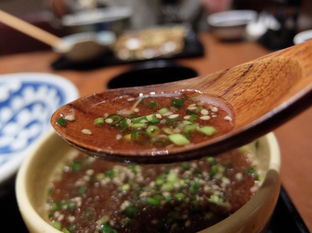 オリーブ豚のつけ麺