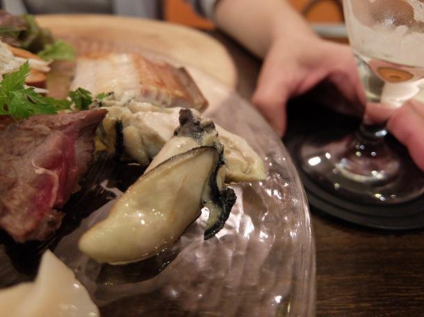牡蛎と鰊のスモーク