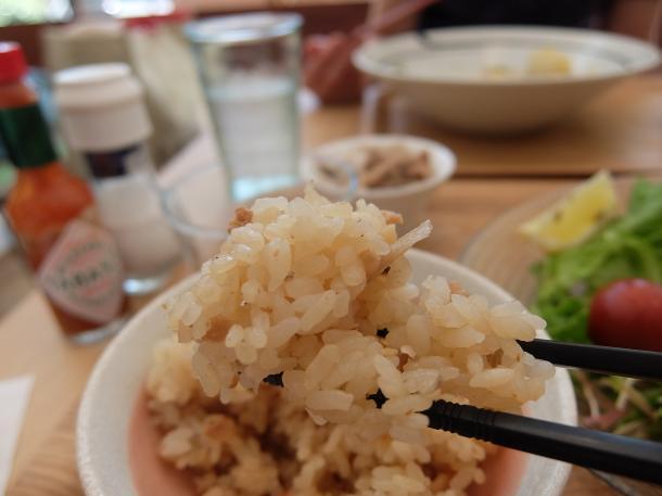 新生姜そぼろご飯