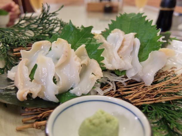 白バイ貝造り