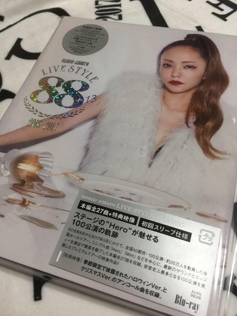 namie amuro LIVE STYLE 2016-2017 LIVE DVD Blu-ray