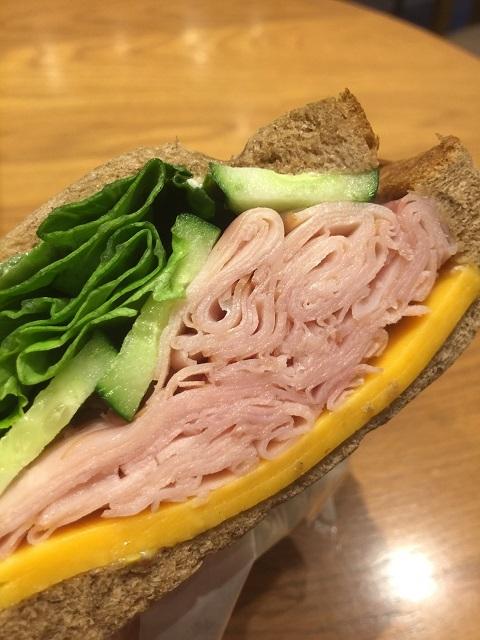スターバックスコーヒージャパン ハニーハムチェダーチーズサンドイッチ