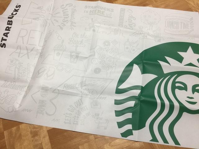 スターバックスコーヒージャパン ピクニックシート3