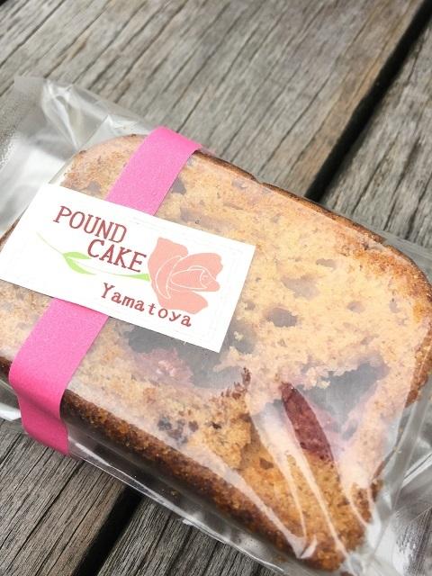 ローズガーデンカフェ バラのパウンドケーキ