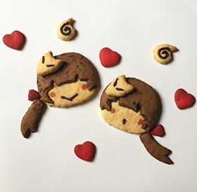 狐の使い魔クッキー