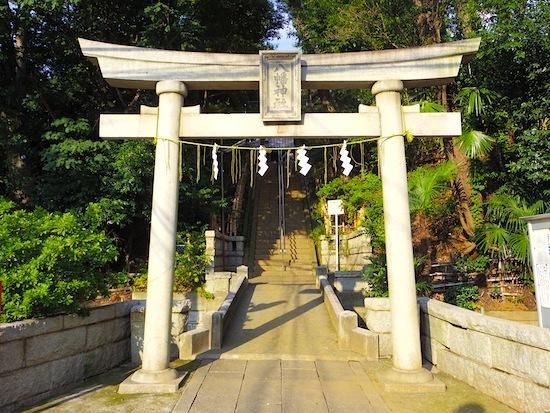 「八幡神社境内古墳」