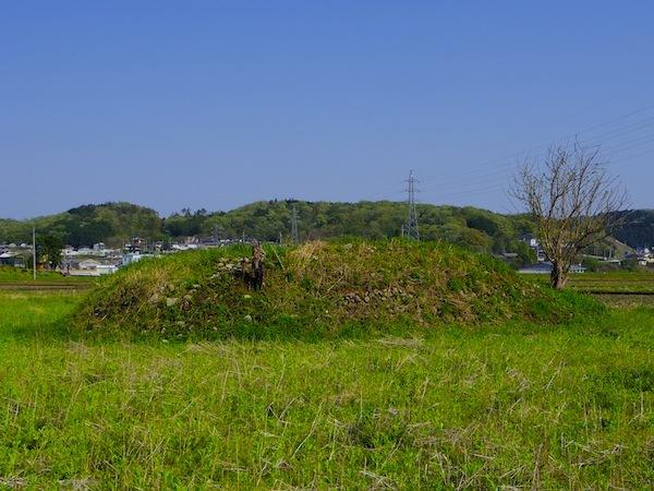 栃木県那須郡那珂川町「北向田古墳群」