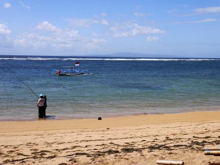 バリ島の海