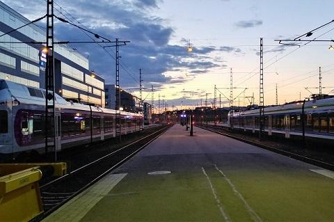 Helsinki Central 2345 (0545JST)